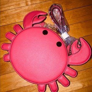Aldo - Kids Red crab purse - Brand New